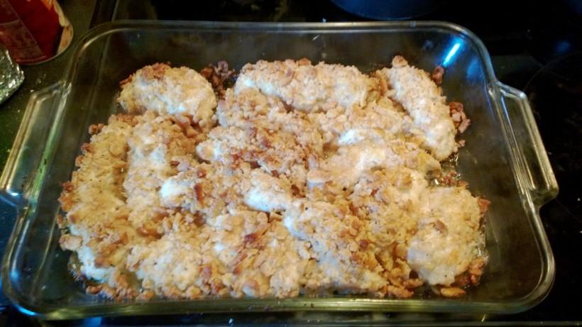 Grandma's Sunday Special Ritz Cracker Chicken