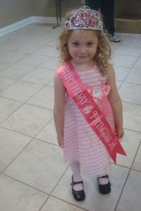 Birthday girl. She had a ninja turtle/princess party. :)