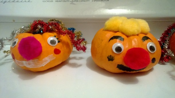 Sister & Brother Pumpkin