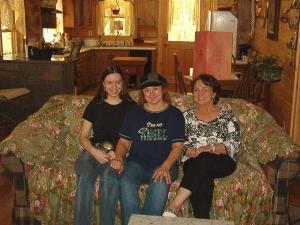 Mom, Nana and me