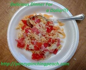 Dinner For a Dollar