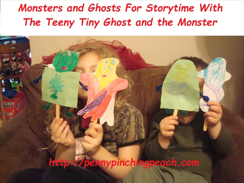 Monster and Ghost Puppets