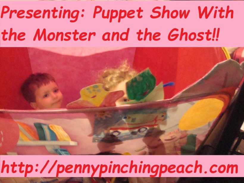 Monster and Ghost Puppet Show