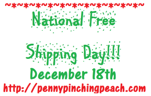 National Free Shipping Day