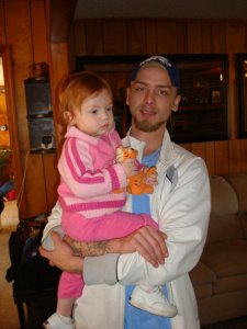 Brother & His Daughter A Few Years Ago