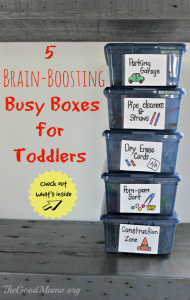5 Brain-Boosting Busy Boxes For Toddlers